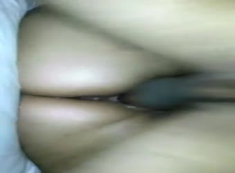 My wife squirting all over with a black dick