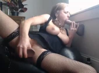 This slut needs 2 real cocks