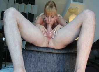 Great wife deepthroating husband's big boner