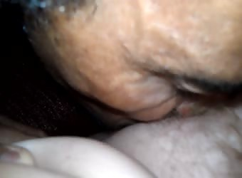 Me Eating A BBW Pussy