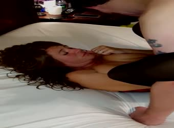 Wife filmed with first  new cock