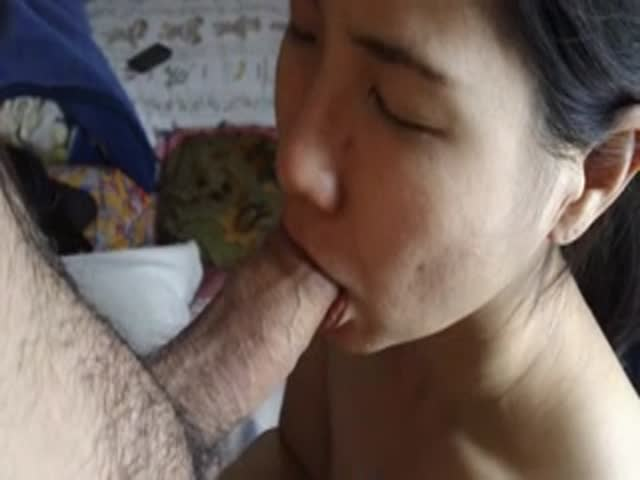 Sweet blowjob cum