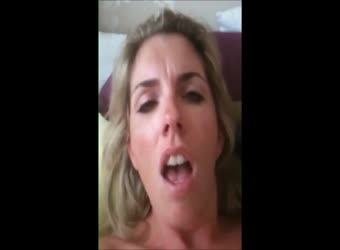 MILF likes to record her orgasms