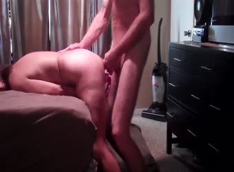 BBW anal and dp deep sex