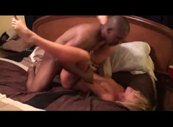 Gorgeous blonde hotwife destroyed by BBC stud