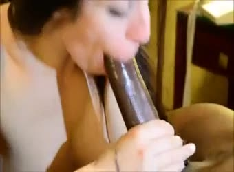 Hotwife with well hung hubby but bigger BBC