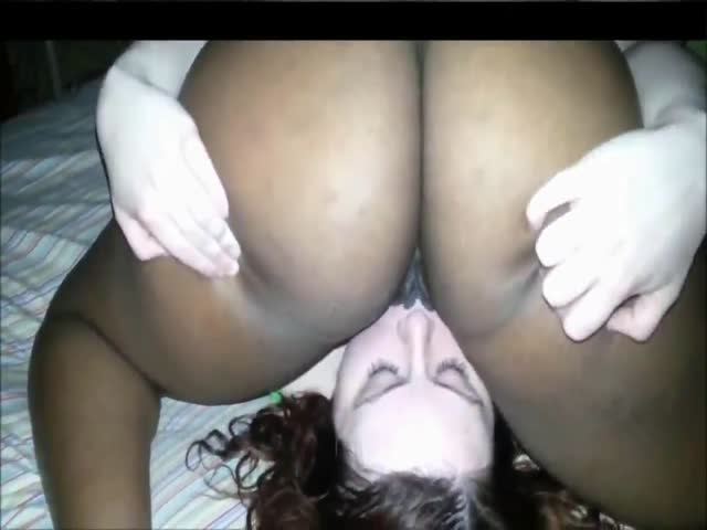 homemade ebony threesome