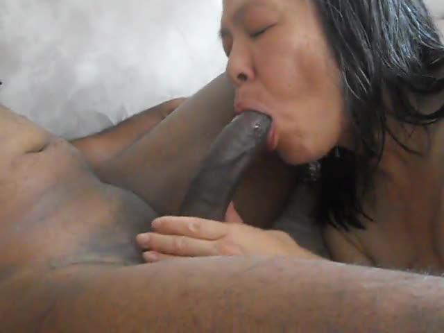 Asian wife amateur bbc fuck my ass