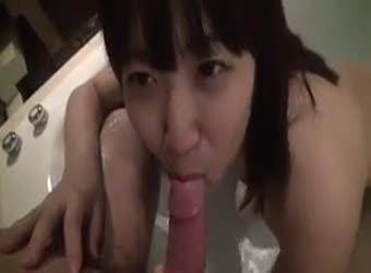 Japanese amateur couple at home