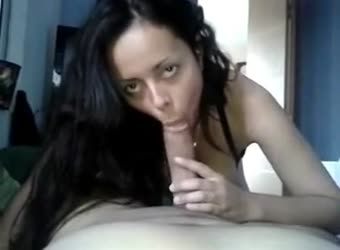 Couple blowjob sex and facial