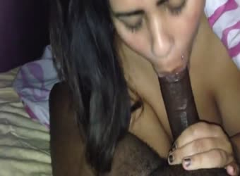 One sloppy bbc loving bbw blowjob