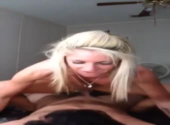 Hot Blonde GF Having Fun Making 1st Sextape