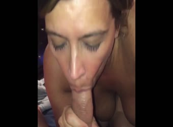 Horny milf blowjob