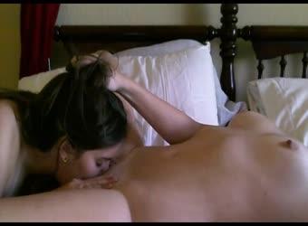 Erotic lesbian oral orgasm