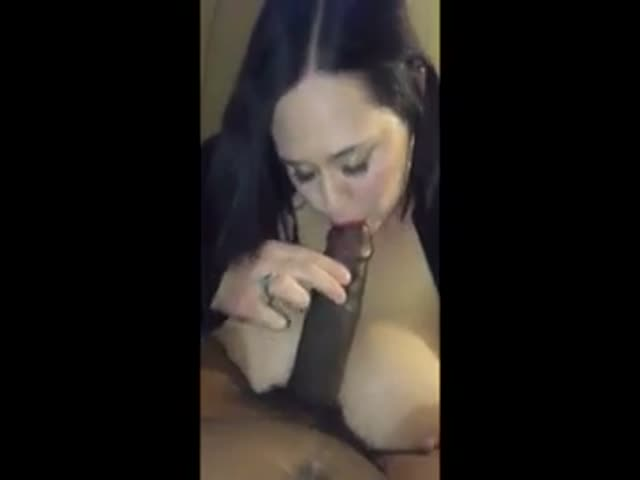 Wife getting tits sucked