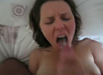 I love eating cum