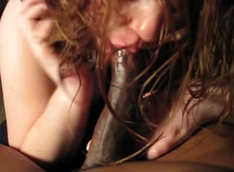 Chubby ginger blowjob and titty fuck BBC