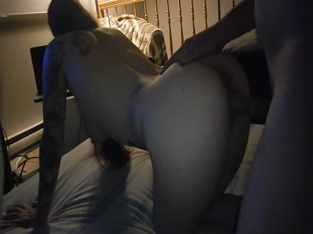 Watching Wife Take Big Dick