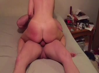 My wife taking young cock deep