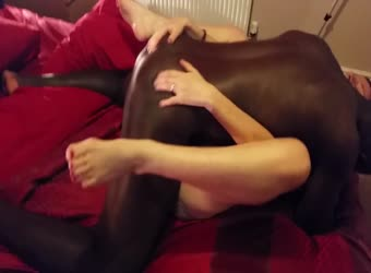 Wife and her new BBC black bull filmed by husband