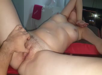 Shy milf gets into it