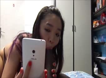 Asian girlfriend found herself a nice BBC