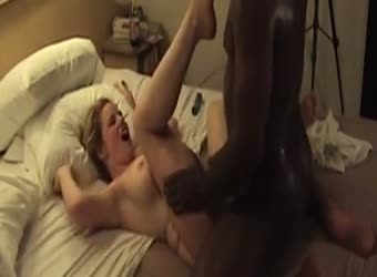 Blonde wife loves it hard from BBC