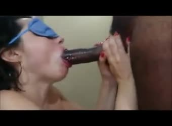 Shared latina wife eating a nice black load