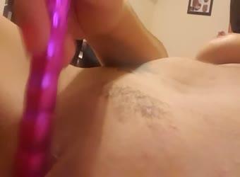 Vibing my tight pussy