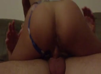 Wifes friend riding my penis - Porn pic