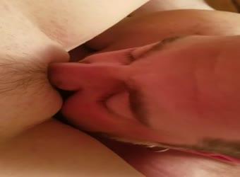 Getting my yummy pussy licked