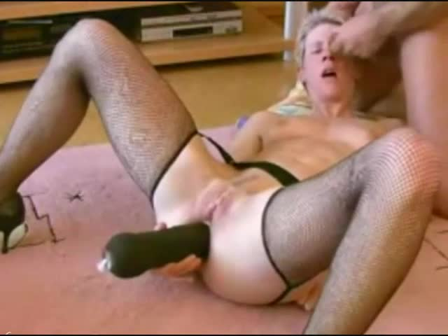 Wife using dildo