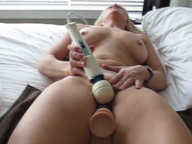 Hard dildo fuck orgasm wet cunt n twitching ass 3