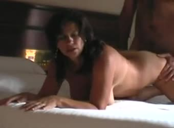 Cheating latina real estage agent cheating with her client