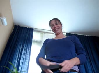 Milf performs full service riding and swallowing