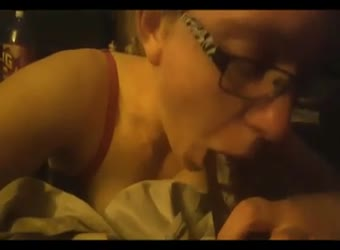 Nerdy white chick gets plowed by BBC