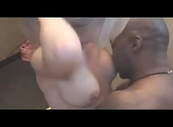 Nervous wife tries her first black cock