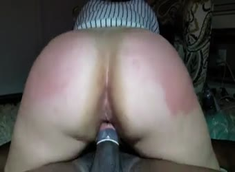 Nina getting double dicked at home