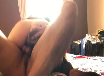 DP my wife with big dildo