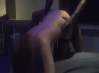 My wife take BBC doggy while she suck me