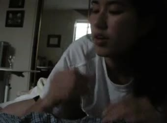 Japanese American college blowjob