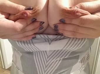 Boob drop and milking for you