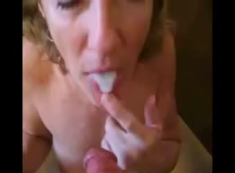 Slutty dirty wife's cumshot sizzle reel