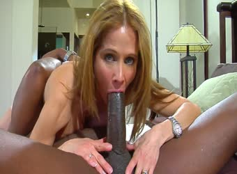 Big black cock creampies gorgeous wifey