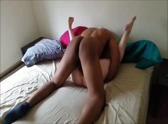 Wife gets her pregnant pussy pounded by BBC