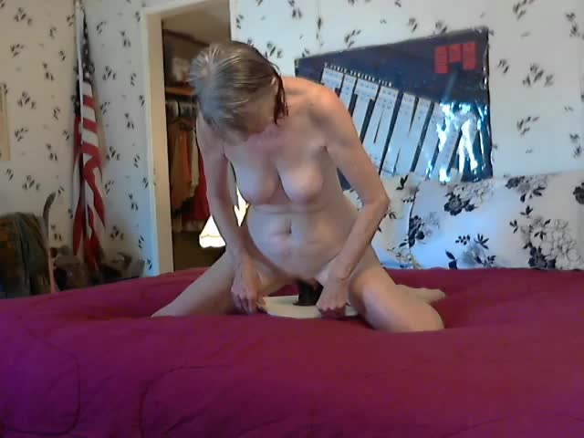 Mature Wife Masturbate Dildo