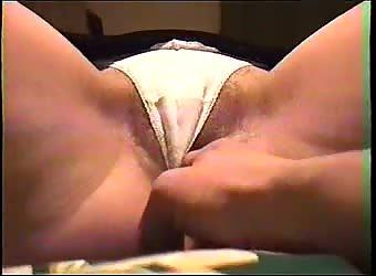 Panties pussy dildo