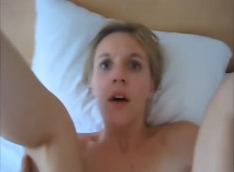 Chick makes crazy eyes when fucked in the ass