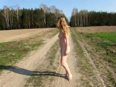 I like walking naked outdoor