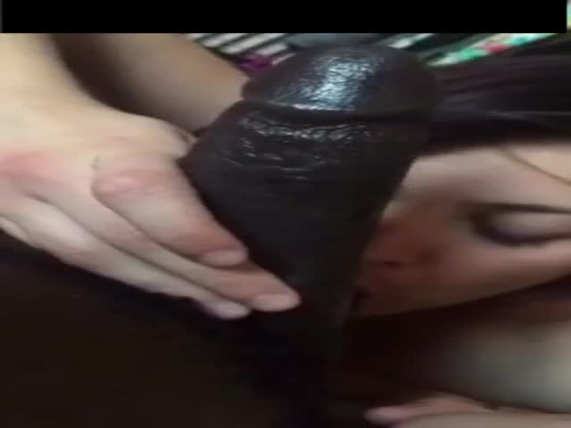 White Girl Sucking Huge Bbc